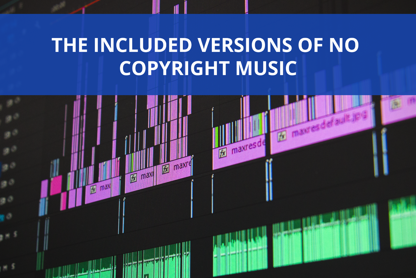 How to Use The Versions of a No Copyright Music? (In Instagram Feed Videos & In Long Interviews)