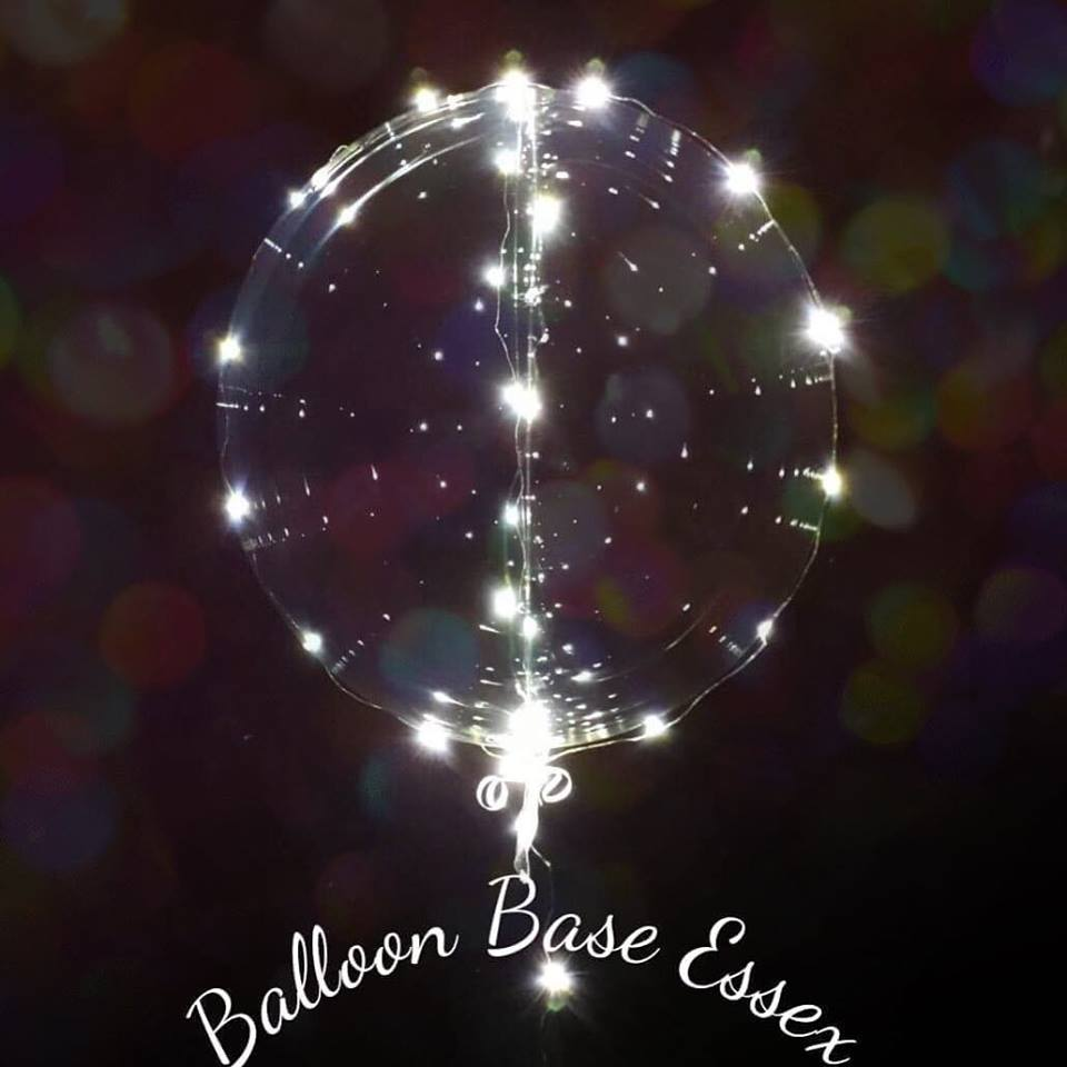 Bubble balloon with lights