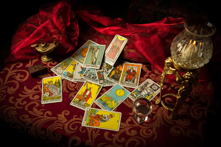 Tarot cards are the Kabbalistic magic in the arcana.
