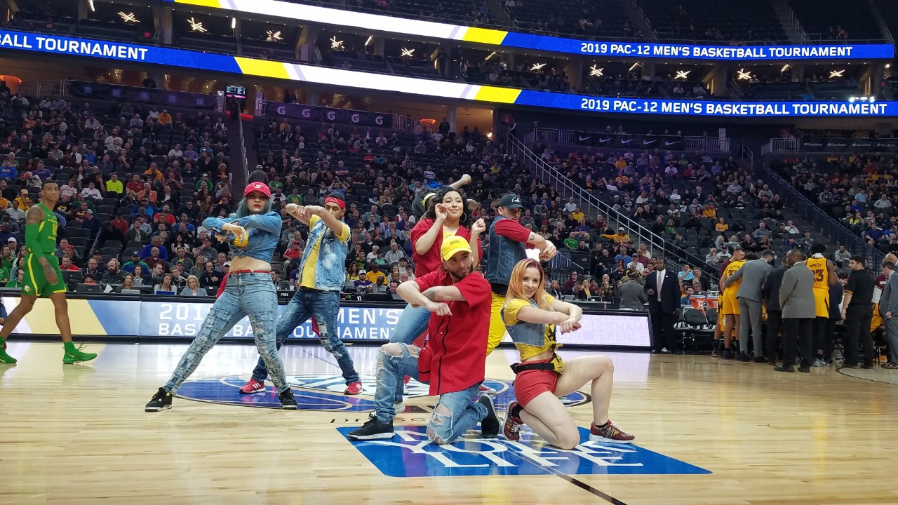 Culture Shock Performs for PAC 12