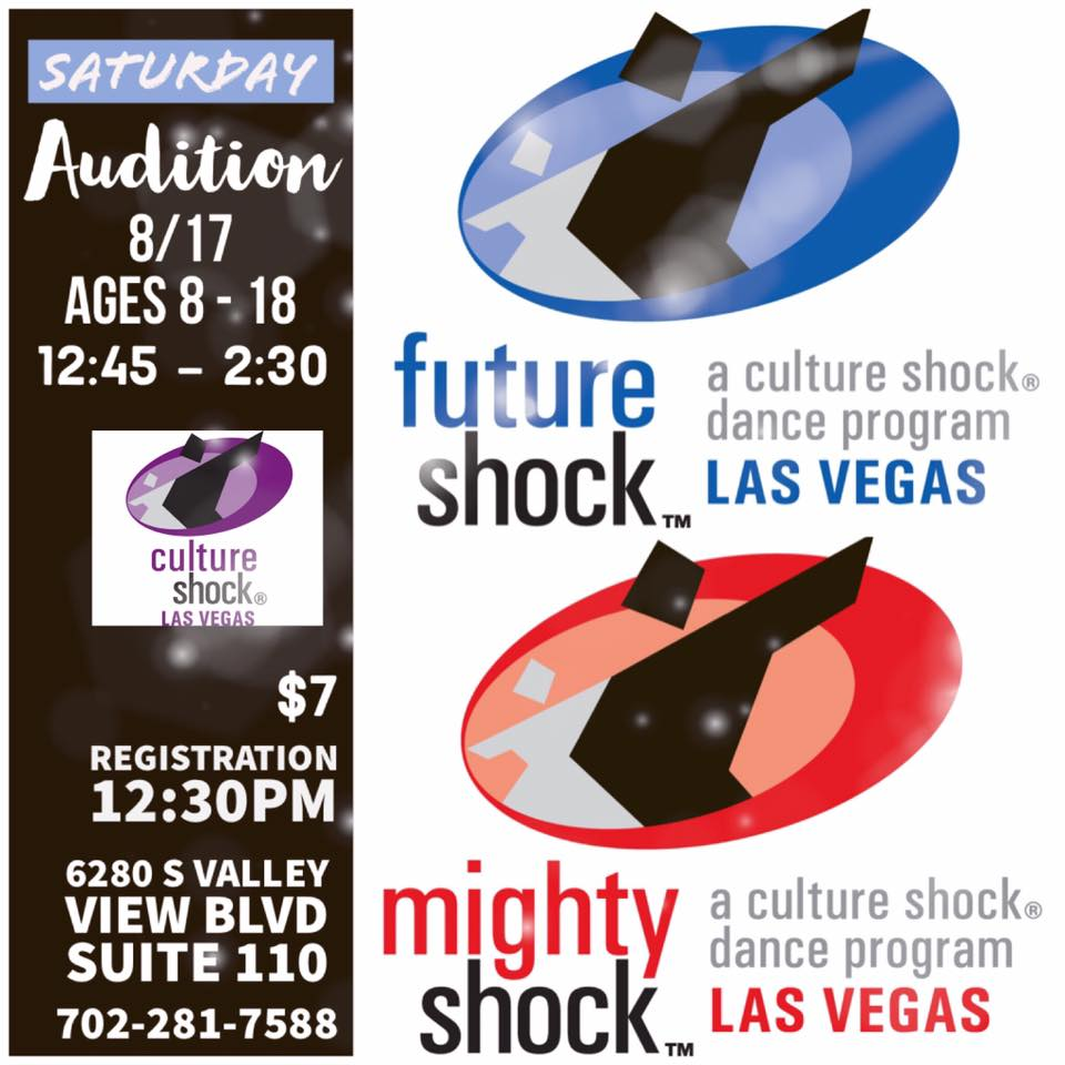Saturday, August 17th, Youth Auditions