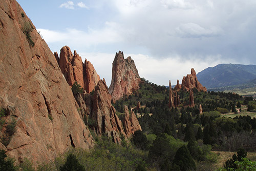 Taking the long way to the Garden of the Gods