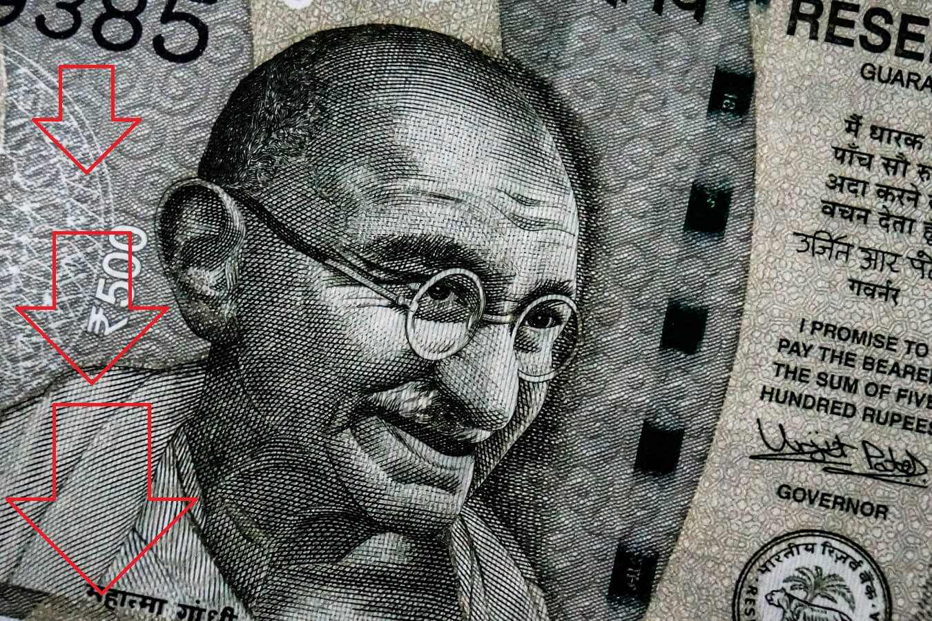 Indian Rupee lower than ever