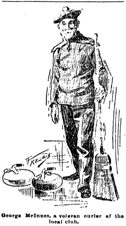 George McInnes, founding member Grand Rapids Curling Club
