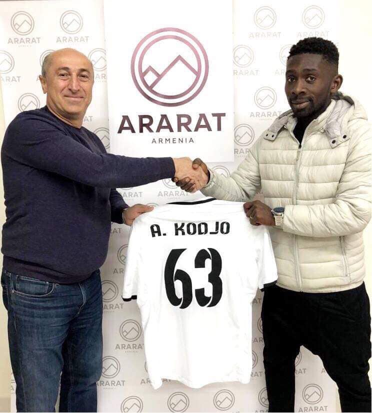 Ivorian midfielder Kódjo Alphonse