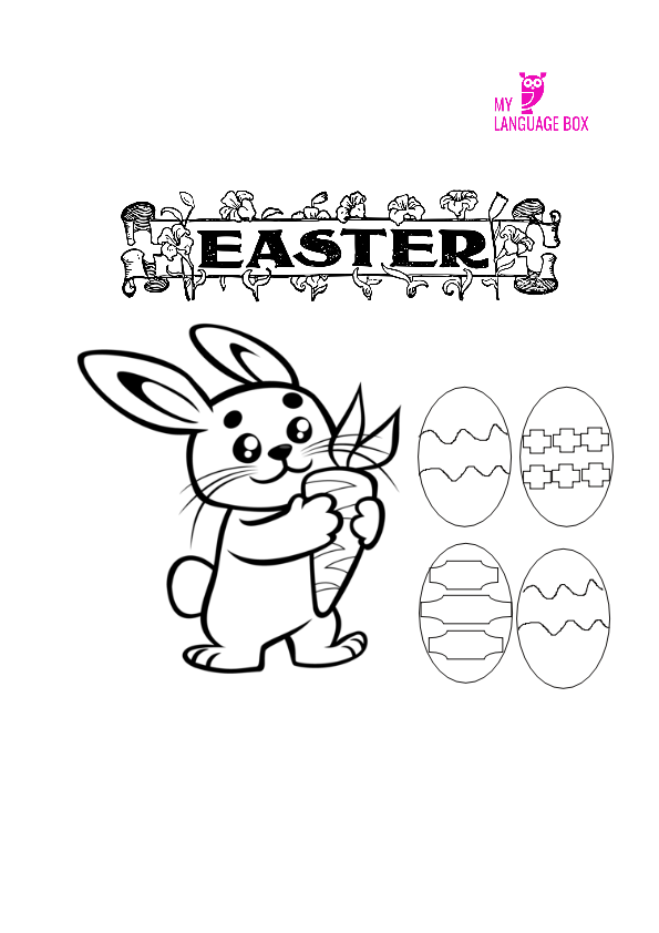 Free Easter printables My Language Box