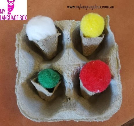 My Language Box craft activities