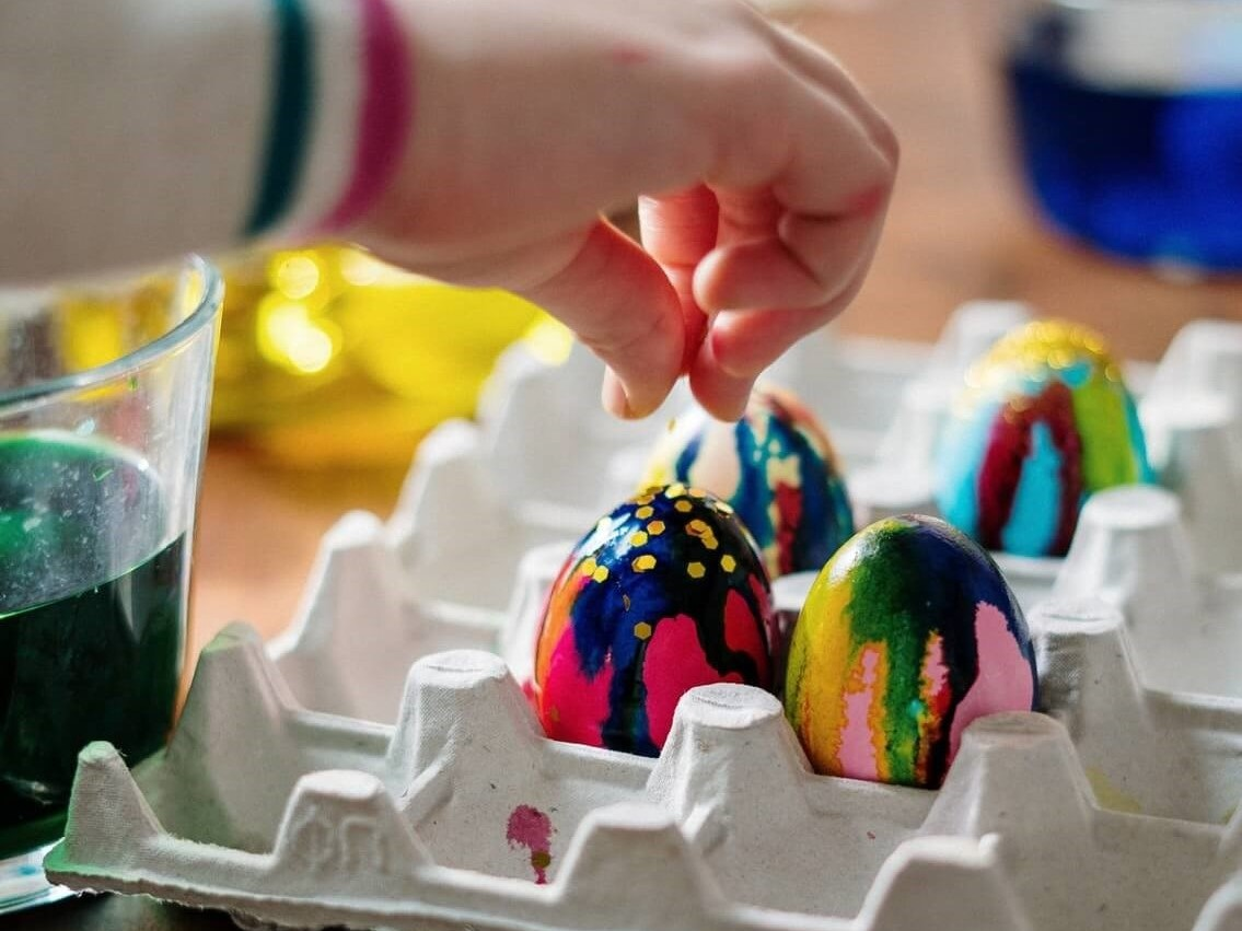 Egg carton simple crafts for kids