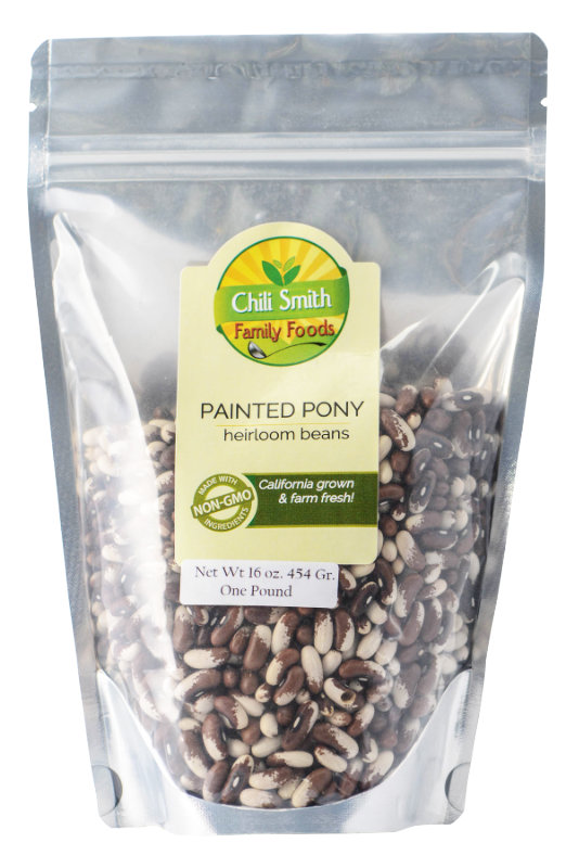 Chili Smith Family Foods Painted Pony heirloom beans