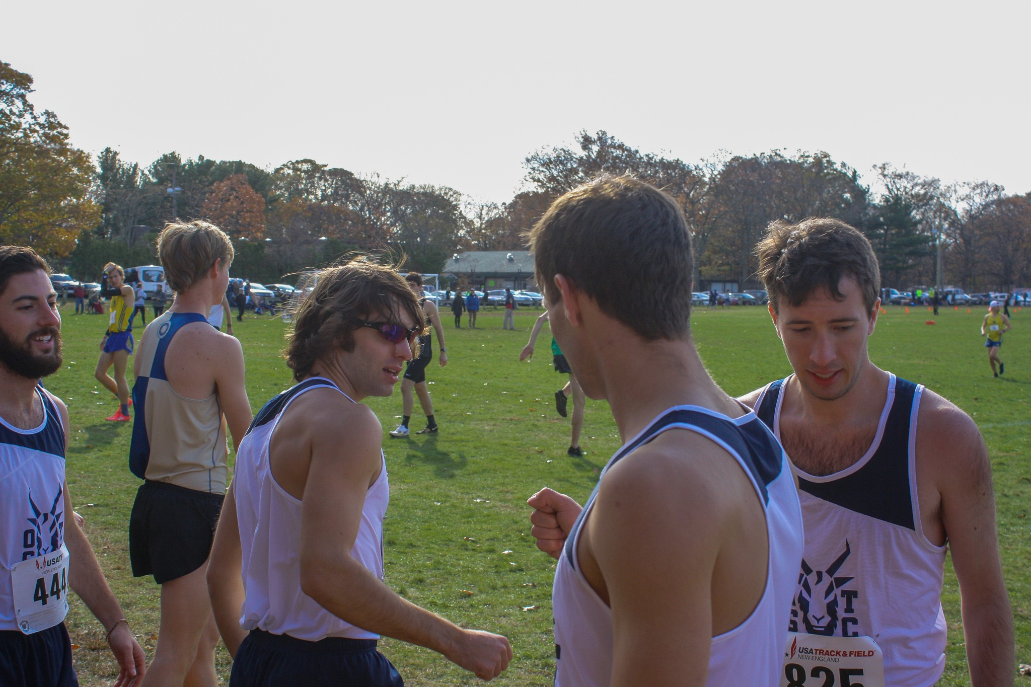 Old Goats post a club best 8th place finish at USATF New England XC Championships