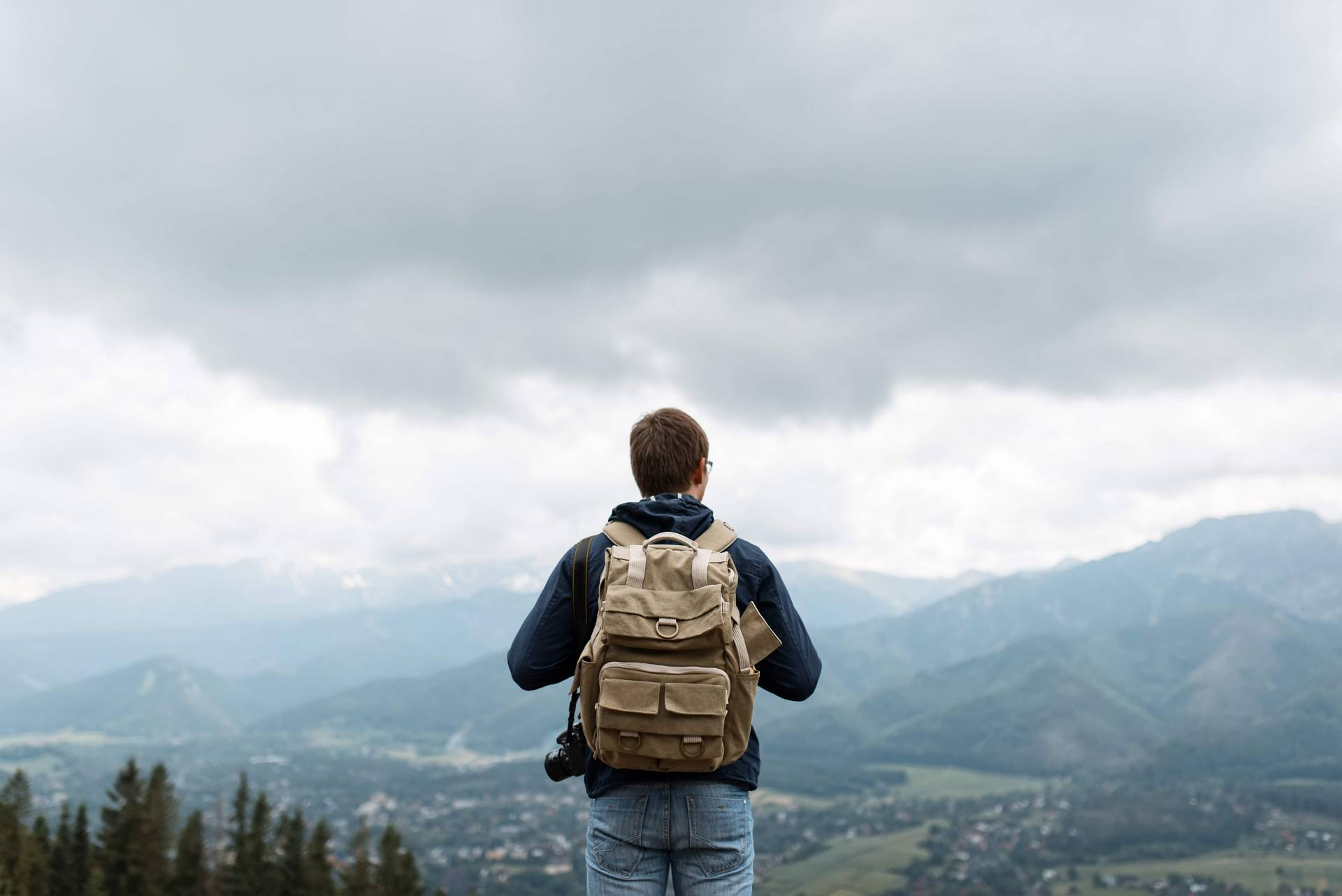 Backpacker's confessions