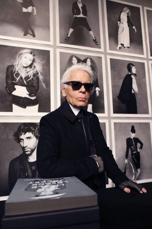 Karl Lagerfeld: King of Black