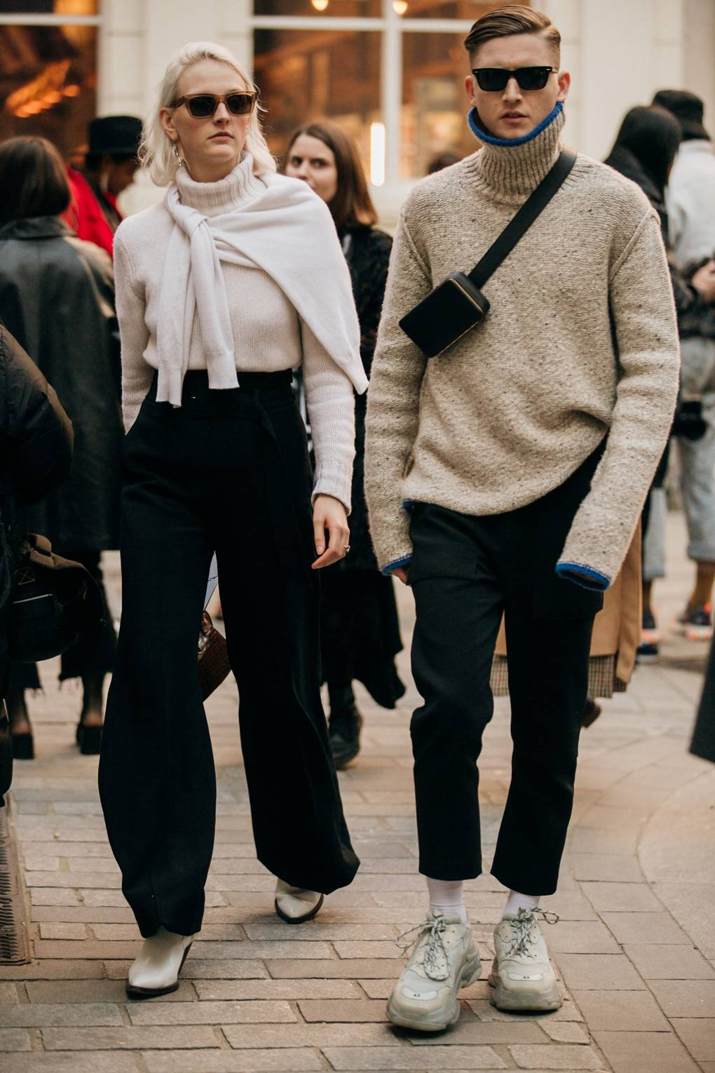Top Street Style Outfits From London Fashion Week