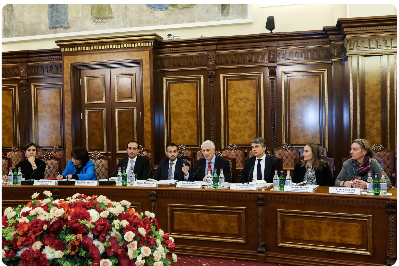 The first Management Board meeting of the Armenia National SDG Innovation Lab