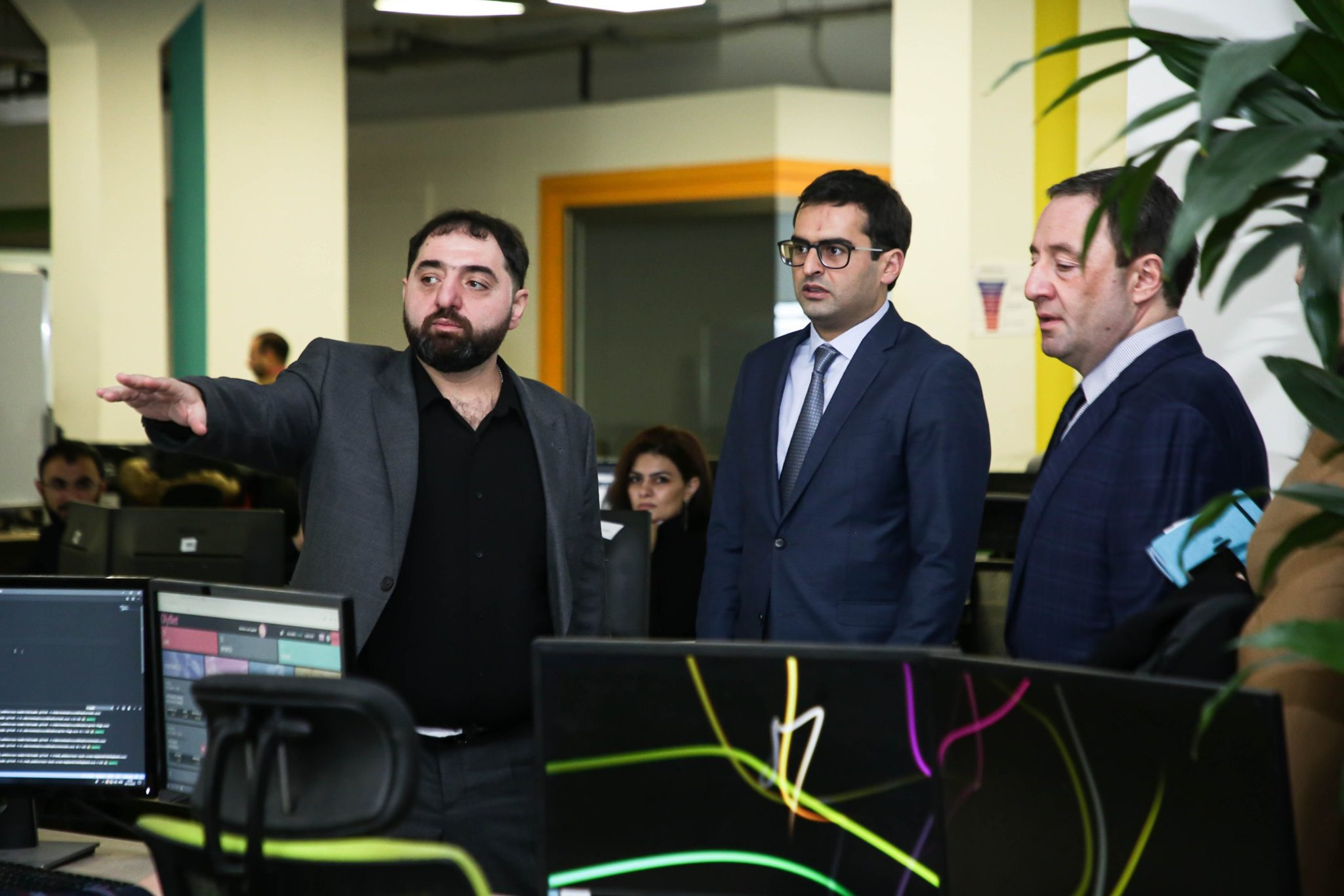 Hakob Arshakyan has visited SoftConstruct company