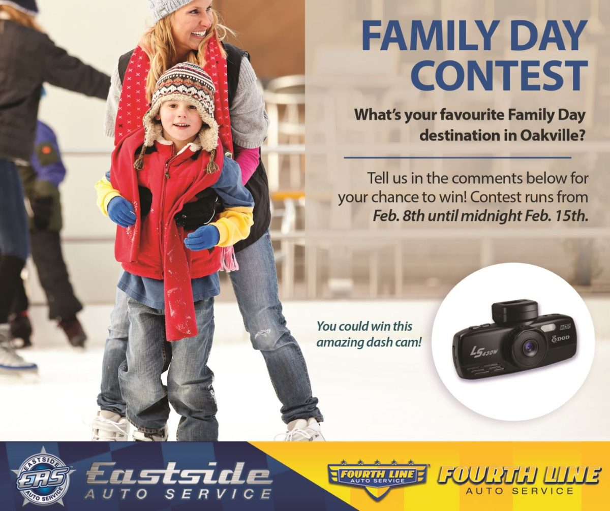 FAMILY DAY CONTEST – WIN A DASH CAM