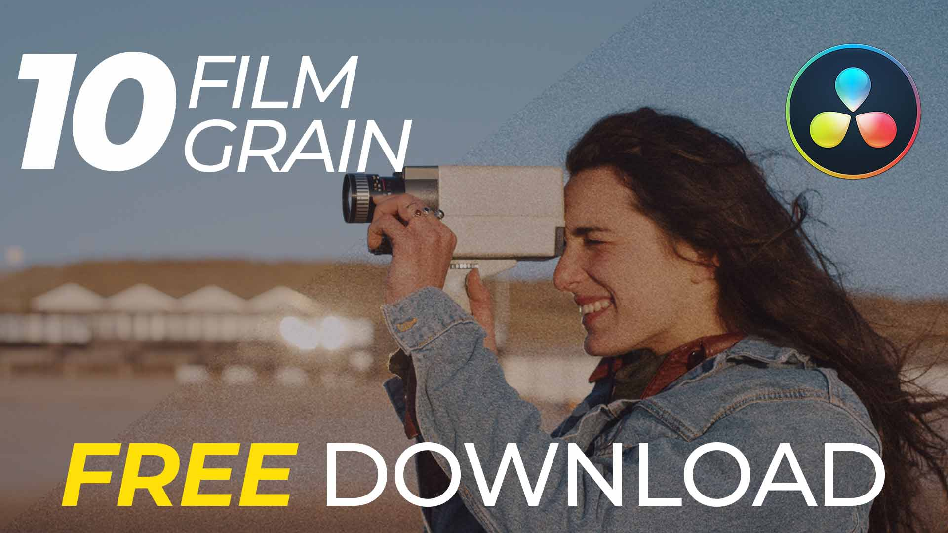 GrainX: 10 Free 4K Film Grain for DaVinci Resolve
