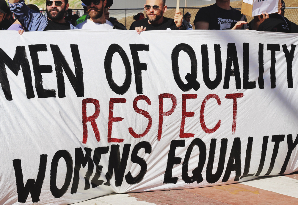 Peaceful Protest Against the Gender Pay Gap