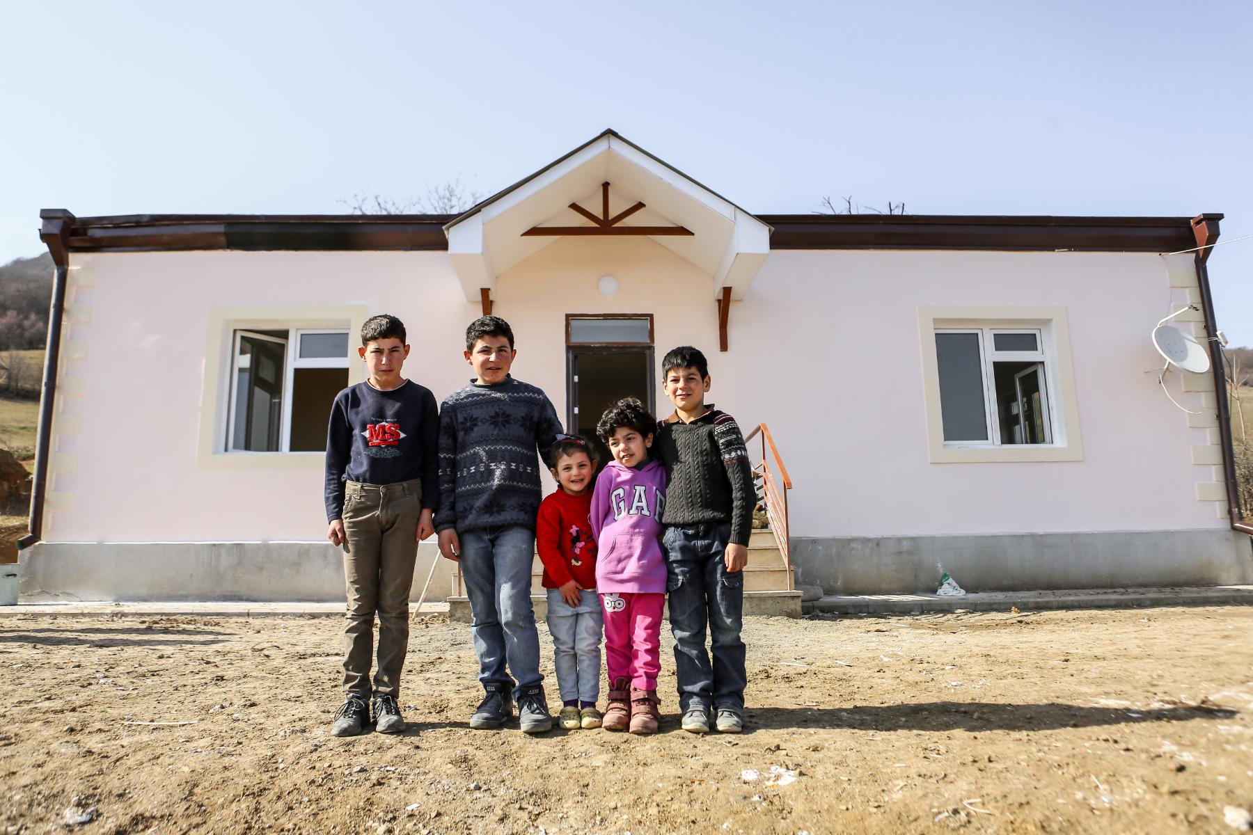 Tufenkian Foundation Begins Major Home Renovation Project in the Villages of Martuni