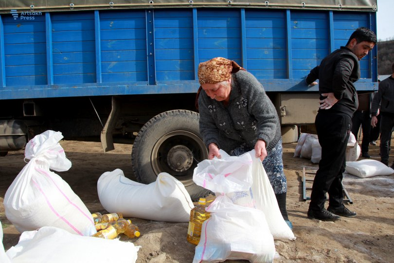 Tufenkian and Mérieux Provide Humanitarian Assistance to 96 Families in Artsakh's Machkalashen Village