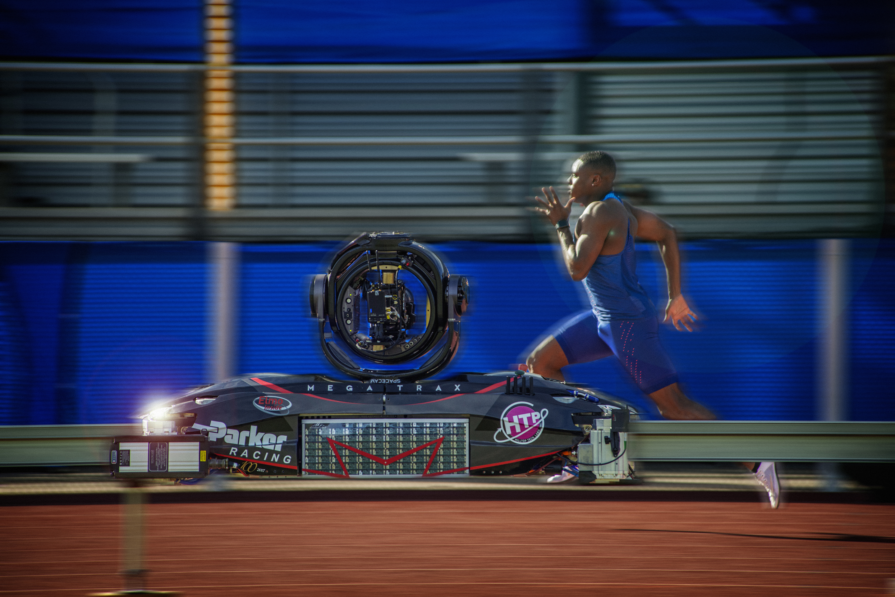 MegaTrax films for the US Olympic Track & Field team