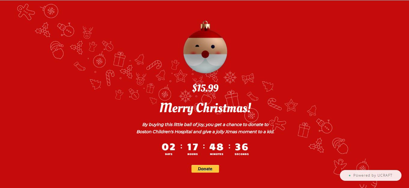 рождественский сайт