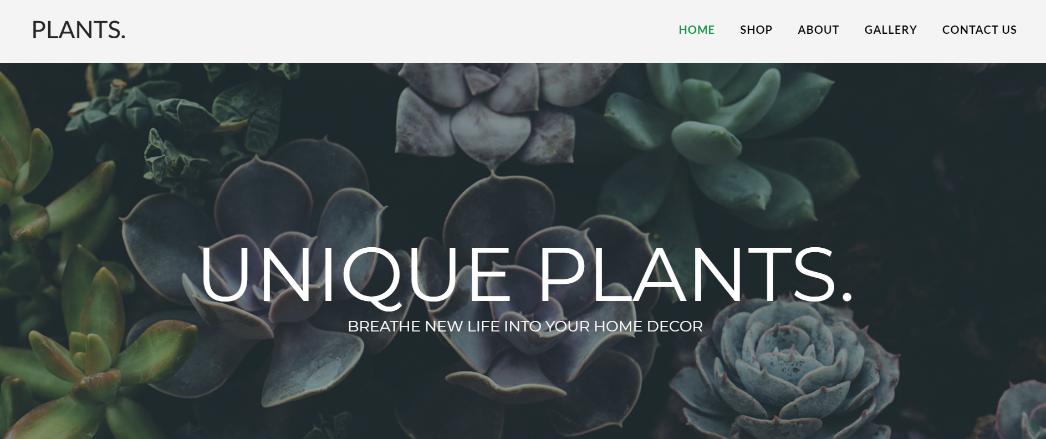 онлайн-магазин растении