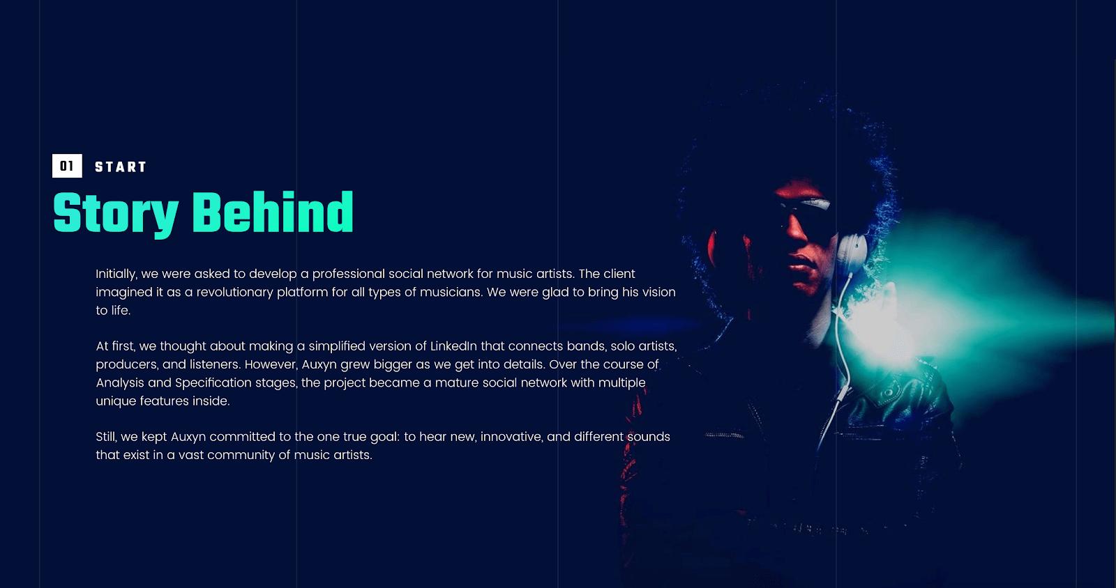 քո պատմությունը կայքում