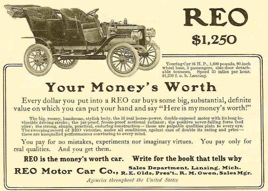 1900-ականներ գովազդ