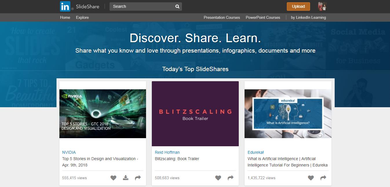 ինչ է SlideShare-ը