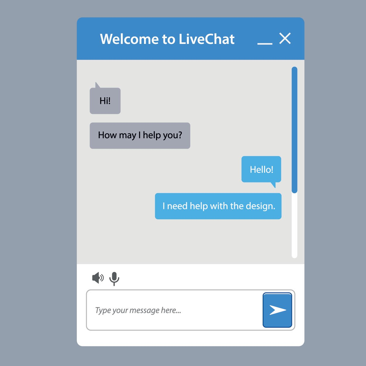 live chat customer service solution