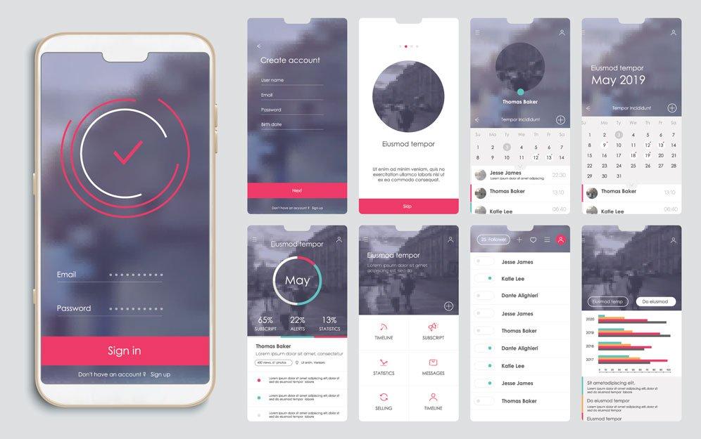 navigation of a mobile website