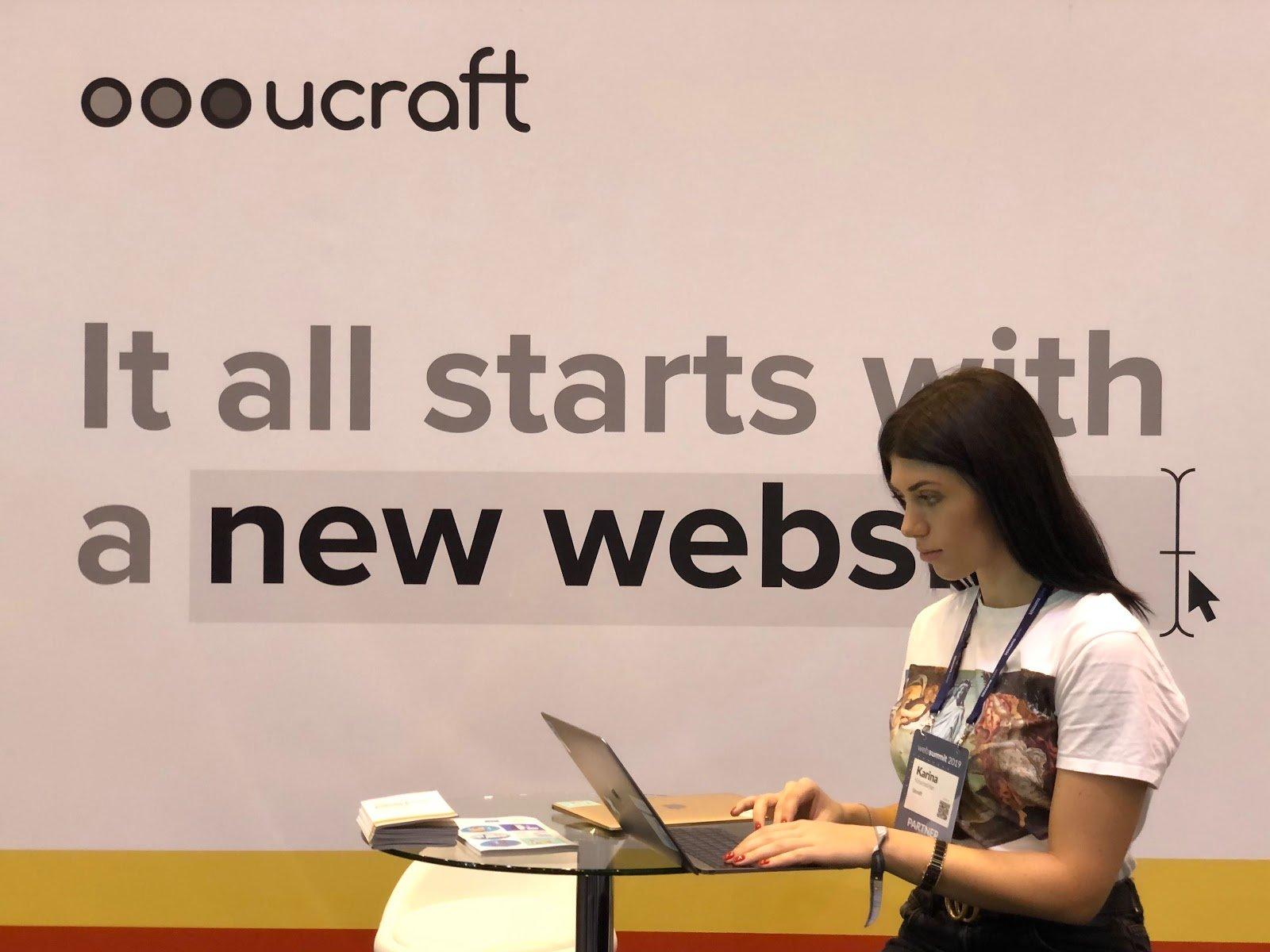 ucraft participates in web summit