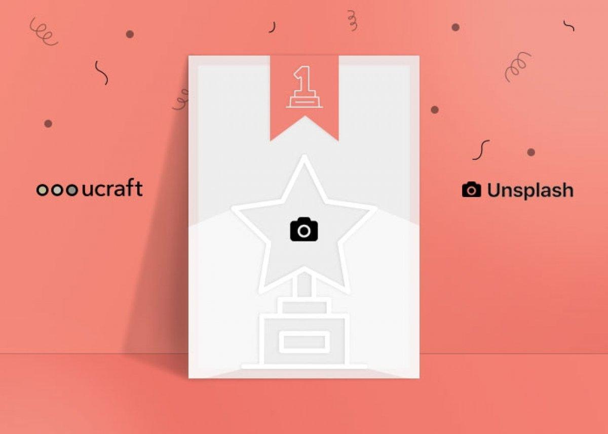 Ucraft + Unsplash: Free image stock built into Ucraft