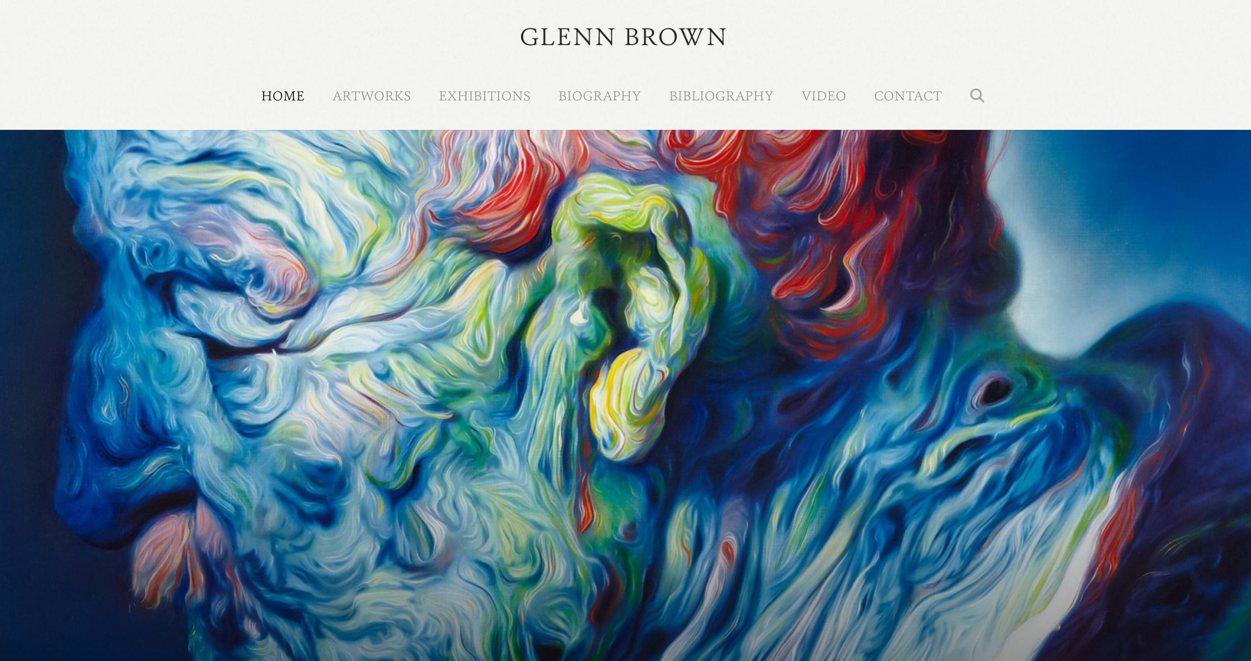 20 Brilliant Artist Portfolio Designs