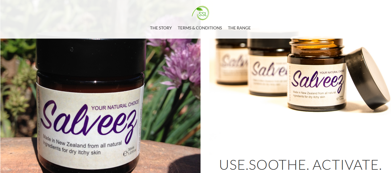 Salveez – skincare products from New Zealand